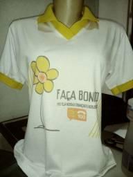 Vende- se 70 camisetas polo feminina nova. P. M. G.GG .