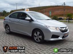 Honda City 1.5 LX Câmbio CVT*Conforto+Economia*Novíssimo - 2015
