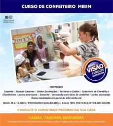 CURSO DE CONFEITEIRO MIRIM