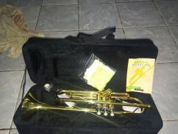 Título do anúncio: Trompete BM NOVO