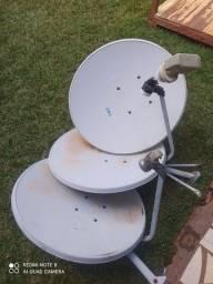 Antena Ku 60 cm com lnb