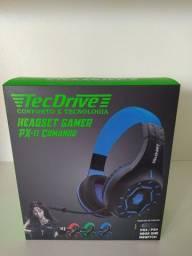 Fone Gamer - Headset Gamer TecDrive PX11 Comando