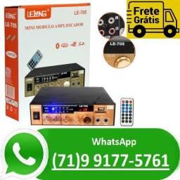 Título do anúncio: Mini Modulo Amplificador De Audio Bluetooth Karaoke Lelong (NOVO)