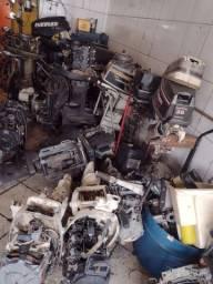 Peças de motores de popa