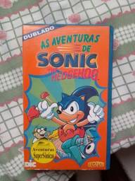 Título do anúncio: Fita - As aventuras de Sonic The Hedgehog