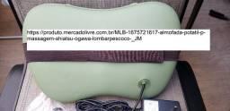 Almofada Potátil P/ Massagem Shiatsu Ogawa (lombar/pescoço)