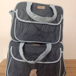 Título do anúncio: Kit com 2 bolsas novas para bebê