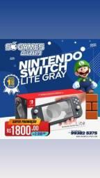 Título do anúncio: Nintendo switch lite novo