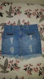 !!Saia jeans!!