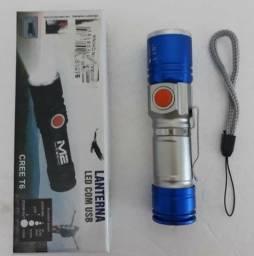Mini lanterna led recarregável_varejo e atacado entrega a domicílio jp e região
