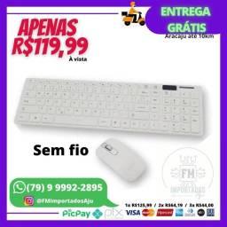 Kit Teclado e mouse SEM FIO. ENTREGA GRÁTIS AJU