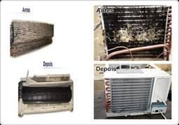 Limpeza de ar condicionado a partir de 150reais