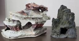 Rochas de resina para aquario de água doce