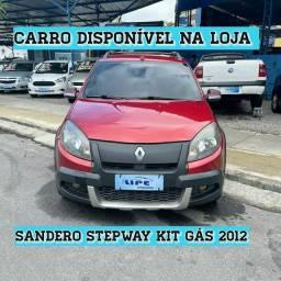 Título do anúncio: Sandero Stepway 1.6 kit gás 2012