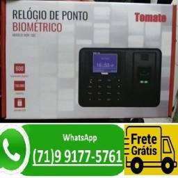 Título do anúncio: Relogio De Ponto Biometrico Impressao Digital Eletronico (NOVO)