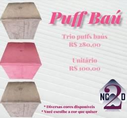 Título do anúncio:  Puffs Baús!