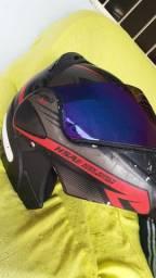 vendo capacete v-pro get 3 escamoteavel
