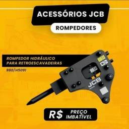 Título do anúncio: Rompedor Hidraulico JCB hm335 para retroescavadeira peso 384 kg novo