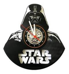 Relógio de parede, Star Wars, em vinil