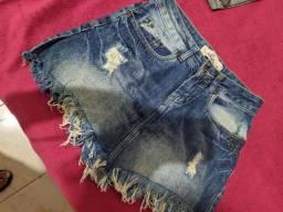 Saia jeans 36