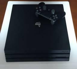 Título do anúncio: PS4 Pro + 3 jogos + Garantia.