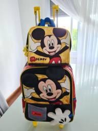 Mochila e Lancheira do Mickey 3d