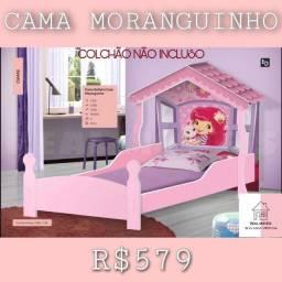 Título do anúncio: CAMA DA MORANGUINHO / CAMA DA MORANGUINHO o infantil