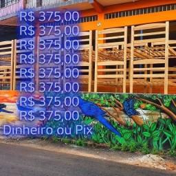 Título do anúncio: Beliche Madeira Maciça de Fábrica $375