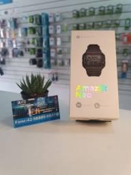 "Título do anúncio: Smartwatch Amazfit Sport Neo 1.2"" caixa de  plástico  black pulseira  black de  pur A2001"