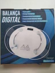 Balança Digital 180kg Vidro Temperado Banheiro Academia