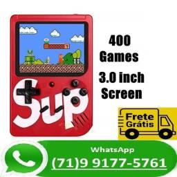 Título do anúncio: Vídeo Game Portátil 8bits Retrô 400 Jogos Nintendinho Gamebox (NOVO)