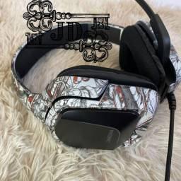 Headset profissional camuflado Onikuma - para PC, Xbox e PS4