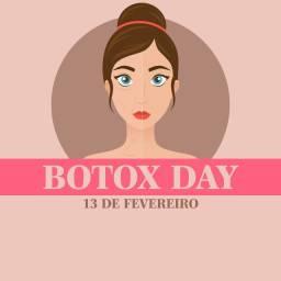 Botox Day - Todos os sábados no Cabral
