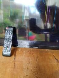 Smart tv Samsung un49j5200ag com tela quebrada