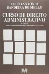 Curso de direito administrativo - 33 ed./2018 (Português) Capa comum ? 1 janeiro 2018