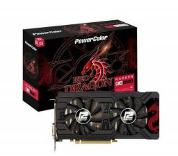 Placa de vídeo vga amd powercolor radeon rx 570 4gb gddr5 axrx 570 4gbd5-3dhd/oc