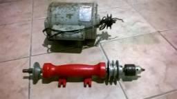 Eixo de meia e motor 3/4 de bancada