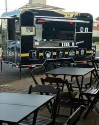 Trailer Food Truck Hambúrgueria