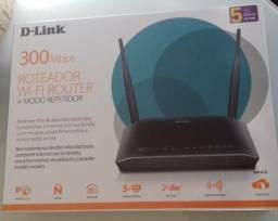 Roteador D-Link 300 mbps Novo na Caixa