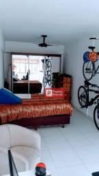Apartamento com 1 dormitório à venda - Itararé - São Vicente/SP