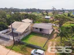Casa à venda com 2 dormitórios em Salinas, Balneário barra do sul cod:03015637