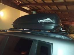 Maleiro, bagageiro de teto 370 litros