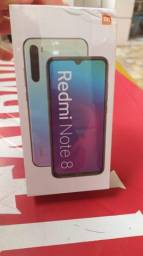 Xiaomi Redmi note 8 Branco 64 Gigas 999 Reais