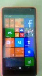 Celular Nokia Lumia 520 Windows Phone 8 Câmera 5MP 3G Wi-Fi Memória Interna 8G GPS