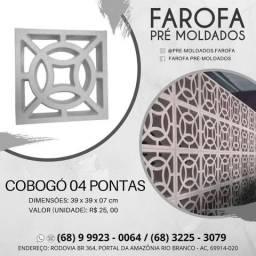 Cobogó - 04 Pontas