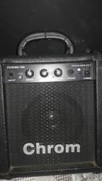 Caixa de som com distorção
