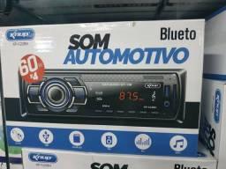 Som de Carro com Rádio Pen drive (( Entrego)) tenho com Bluetooth