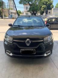 Renault Logan Dyna EasyR Hi-Flex preto
