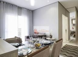 Apartamento com 2 dormitórios para alugar, 49 m² por R$ 1.500,00/mês - Vila Eldízia - Sant