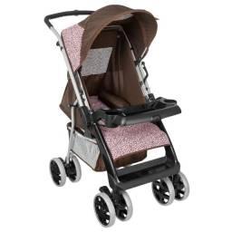 Kit carrinho e bebê conforto tutti baby